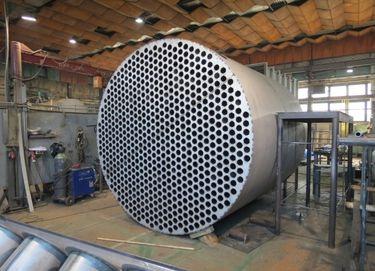 Výroba kotle na biomasu atepelného výměníku (výrobce firma ATOMA)