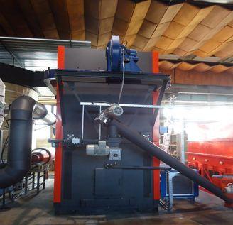 Turbogenerátor ve spojení skotlem na dřevní štěpku, firma ATOMA Sudoměřice
