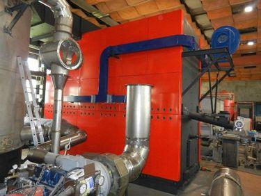 Příprava spojení turbogenerátoru skotlem na dřevní štěpku, firma ATOMA Sudoměřice