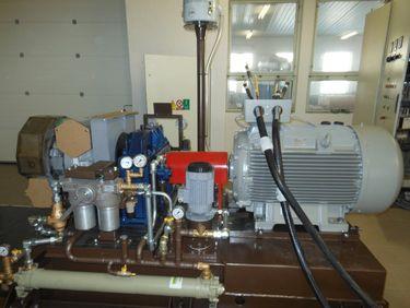 Samotná turbogenerátorová jednotka HAESBIO 200